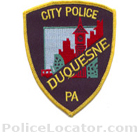 Duquesne Police Department Patch