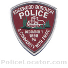 Edgewood Borough Police Department Patch