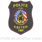 Exeter Township Police Department Patch