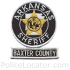 Baxter County Sheriff's Office Patch