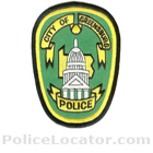 Greensburg Police Department Patch