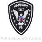 Hamburg Police Department Patch
