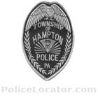 Hampton Township Police Department Patch