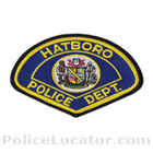 Hatboro Police Department Patch