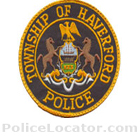 Haverford Township Police Department Patch