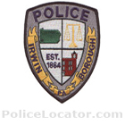 Irwin Borough Police Department Patch