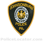 Johnsonburg Borough Police Department Patch