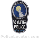 Kane Borough Police Department Patch