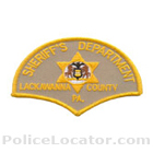Lackawanna County Sheriff's Office Patch