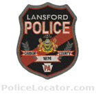 Lansford Police Department Patch