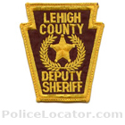 Lehigh County Sheriff's Office Patch