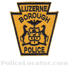 Luzerne Police Department Patch