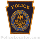 Newtown Borough Police Department Patch