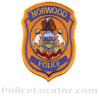 Norwood Borough Police Department Patch