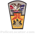 Penn Hills Police Department Patch