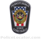 Pennsylvania State Constable Police Patch