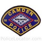 Camden Police Department Patch