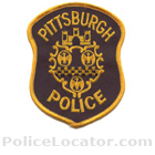 Pittsburgh Police Department Patch