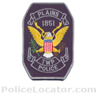 Plains Township Police Department Patch