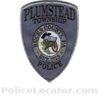 Plumstead Township Police Department Patch