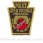 Pottsville Police Department Patch