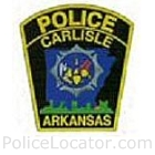 Carlisle Police Department Patch