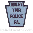 Ridley Township Police Department Patch