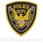 Cave City Police Department Patch