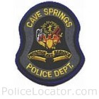 Cave Springs Police Department Patch