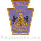 Scranton Police Department Patch