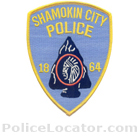 Shamokin Police Department Patch