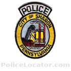 Sharon Police Department Patch