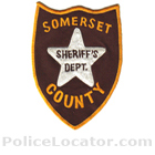 Somerset County Sheriff's Office Patch