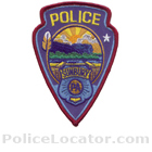 Sunbury Police Department Patch
