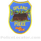 Upland Police Department Patch