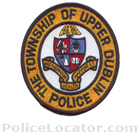 Upper Dublin Township Police Department Patch
