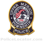 Upper Merion Township Police Department Patch