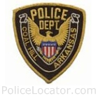 Coal Hill Police Department Patch
