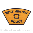 West Newton Borough Police Department Patch