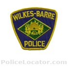 Wilkes-Barre City Police Department Patch