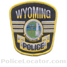 Wyoming Borough Police Department Patch