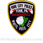 York City Police Department Patch