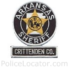 Crittenden County Sheriff's Department Patch