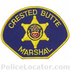 Crested Butte Marshal's Office Patch