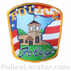 Foley Police Department Patch