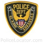 Elaine Police Department Patch