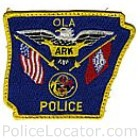Ola Police Department Patch