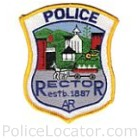 Rector Police Department Patch
