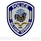 Siloam Springs Police Department Patch