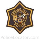 Springdale Police Department Patch